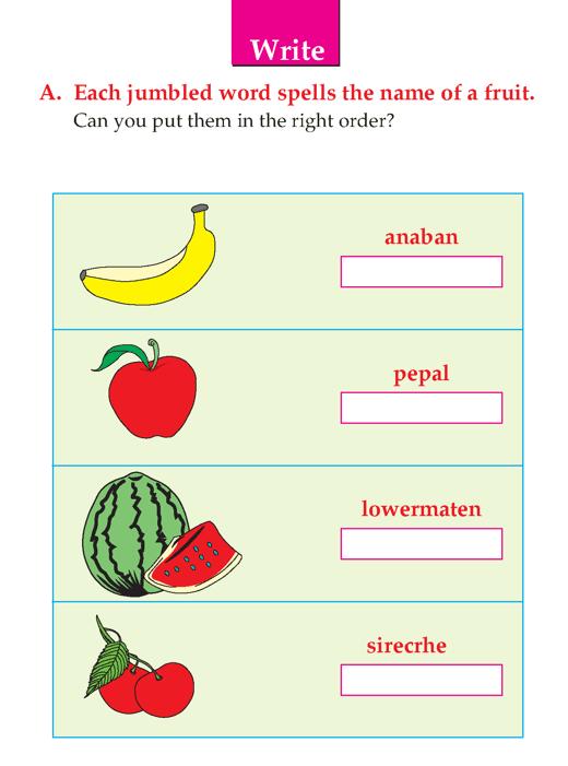 Writing skill - grade 1 - descriptive - my favorite fruit  (4)