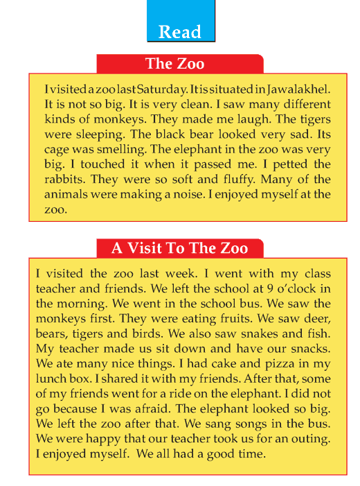 Writing skill - grade 1 - narrative - visit to zoo  (2)
