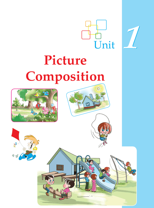 Writing skill - grade 1 - picture composition  (1)