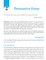 Grade 10 Persuasive Essay