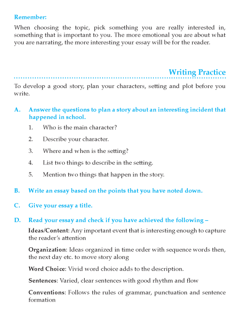 Apa Format For Essay Paper Writing Skill  Grade Page Essays About Business also Business Essay Writing Grade  Narrative Essay  Composition Writing Skill  Page  Essay Paper
