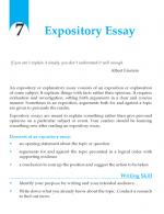 Grade 10 Expository Essay