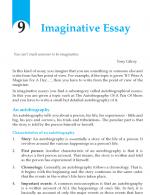 Grade 10 Imaginative Essay