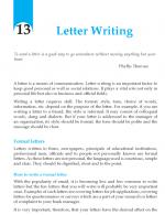 Grade 10 Letter Writing