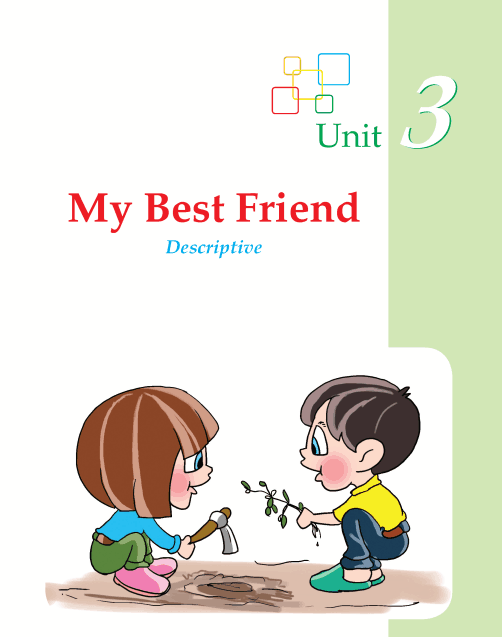 Writing skill - grade 2 - my best friend  (1)