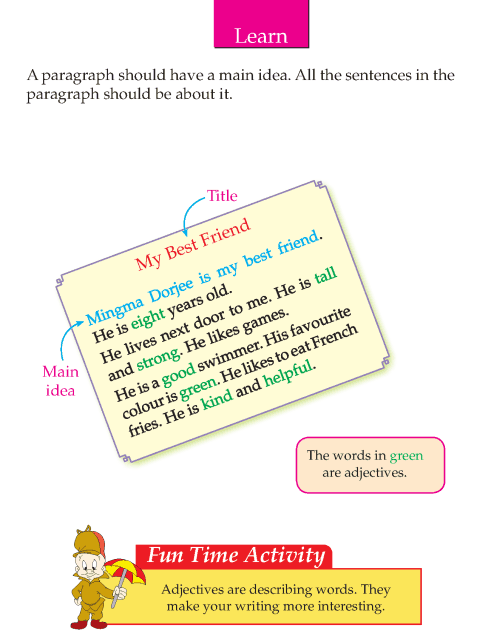 Writing skill - grade 2 - my best friend  (4)