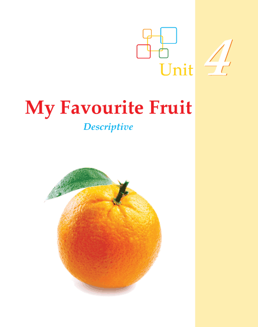 Writing skill - grade 2 - my favourite fruit  (1)
