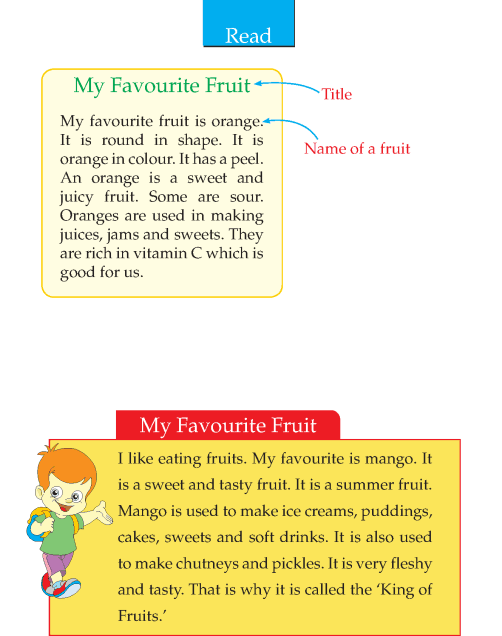 Writing skill - grade 2 - my favourite fruit  (2)