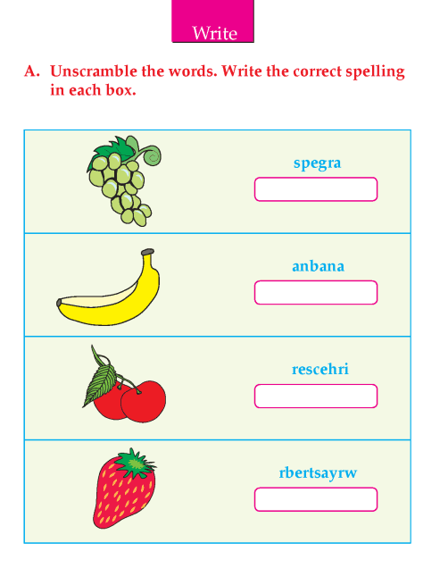 Writing skill - grade 2 - my favourite fruit  (6)