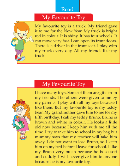 Writing skill - grade 2 - my favourite toy  (2)