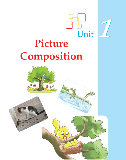 Worksheets Grade 2 Composition grade 2 picture composition writing skill 1