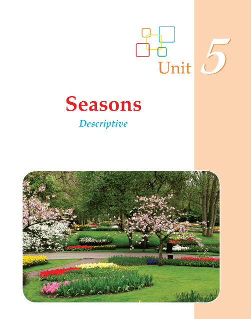 Grade 2 Descriptive Writing Seasons