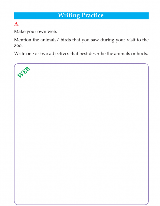Writing skill -grade 3 - a visit to the zoo  (4)