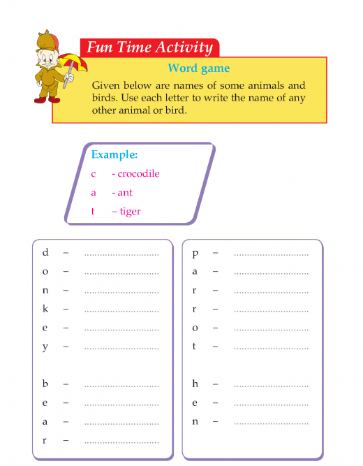 Writing skill -grade 3 - a visit to the zoo  (6)
