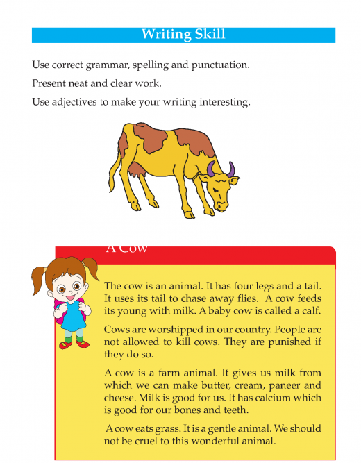 Writing skill - grade 3 - farm animals  (2)