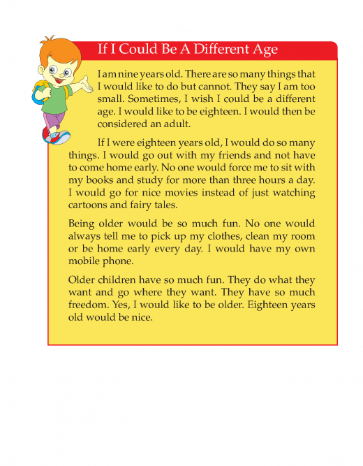 Writing skill - grade 3 - if i could be a different age  (3)