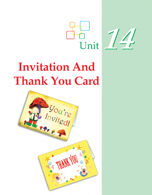 Grade 3 Invitation And Thank You Cards