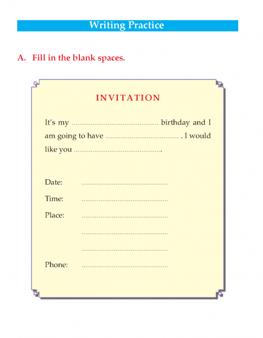 Writing skill - grade 3 - invitation and thank you card   (4)