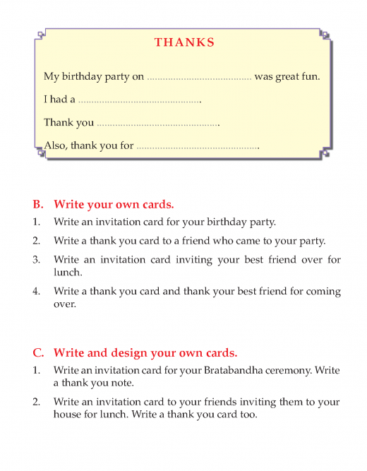 Writing skill - grade 3 - invitation and thank you card   (5)