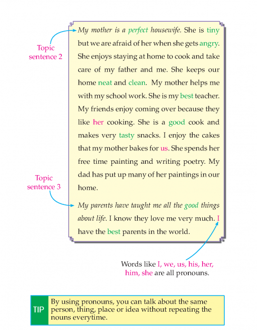 Writing skill - grade 3 - my family  (4)