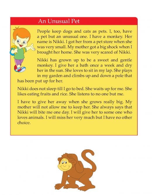 Writing skill - grade 3 - my pet  (3)