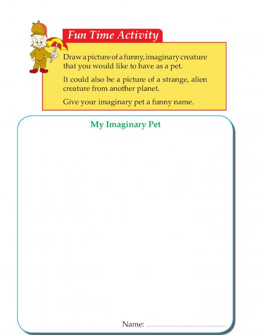 Writing skill - grade 3 - my pet  (5)