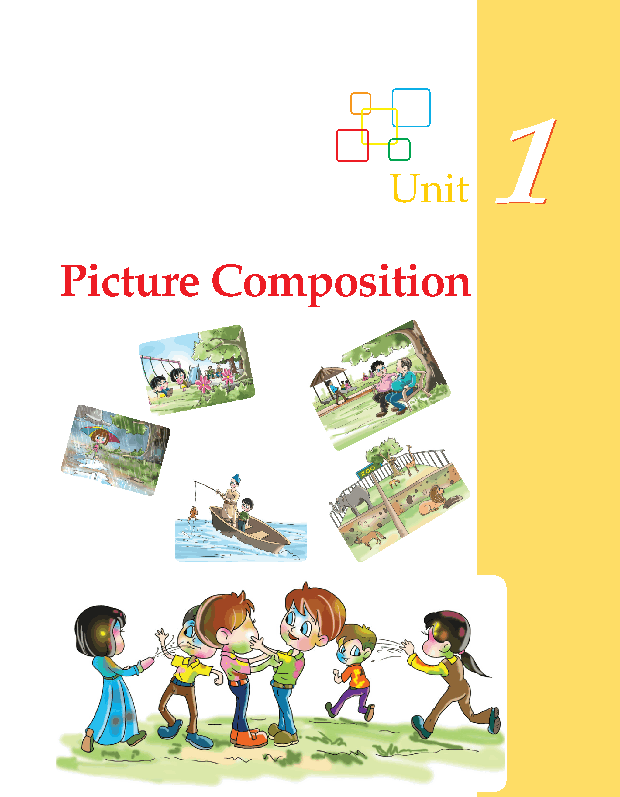 Worksheets Grade 2 Composition grade 3 picture composition writing skill 1