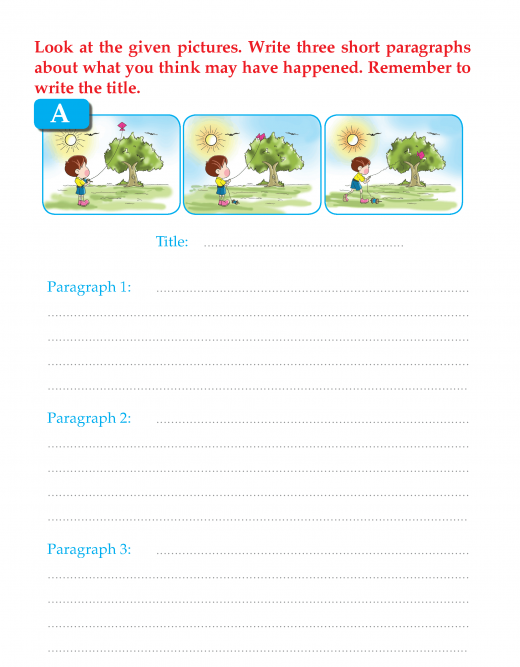 Writing skill -grade 3 - picture composition (10)