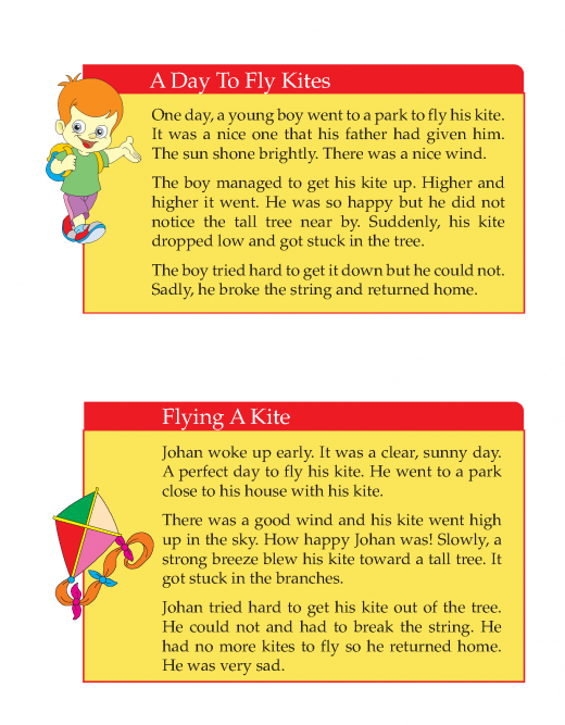 Writing skill -grade 3 - picture composition (11)