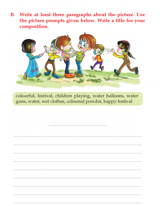 Writing skill -grade 3 - picture composition (8)