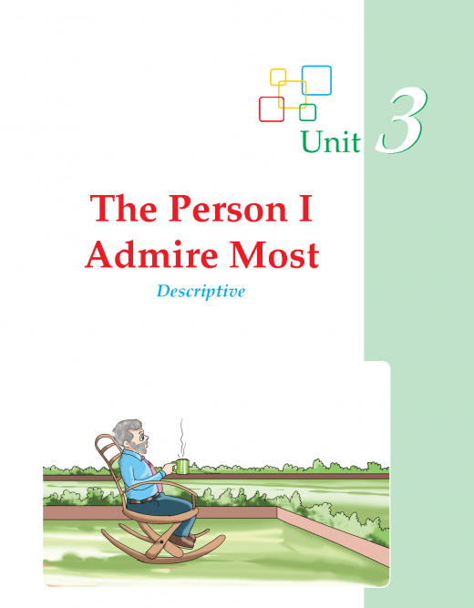 Writing skill -grade 3 - the person i admire most  (1)