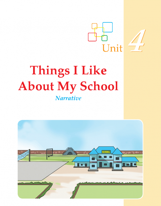 Writing skill -grade 3 - things i like about my school   (1)