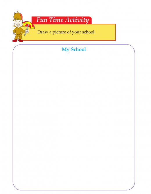 Writing skill -grade 3 - things i like about my school   (6)