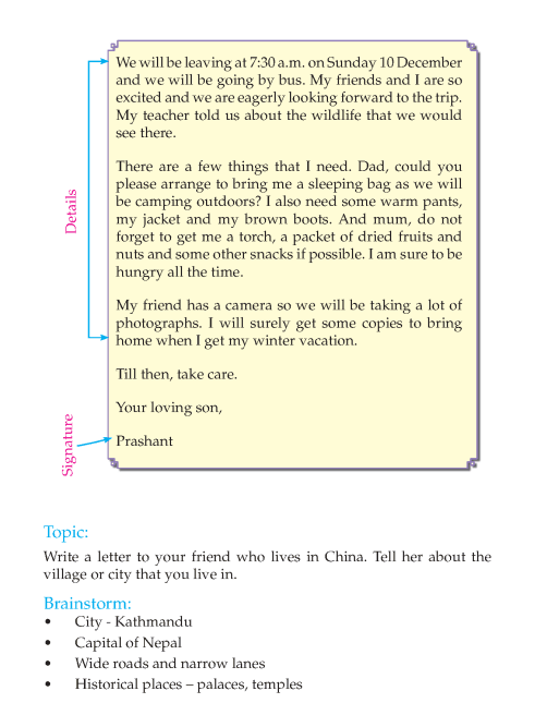 Writing skill - grade 4 - letter writing  (4)