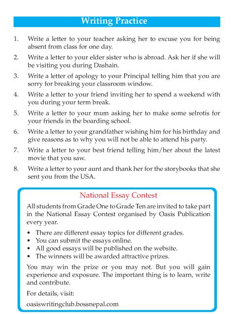 Writing skill - grade 4 - letter writing  (9)