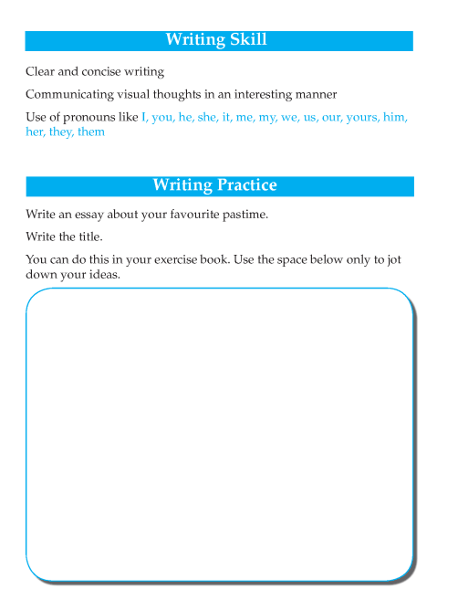 Writing skill - grade 4 - my favourite pastime  (2)