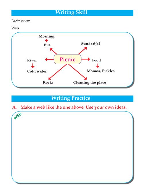 Writing skill - grade 4 - picnic fun  (2)