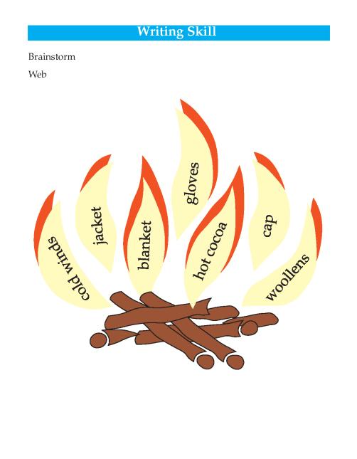 Writing skill - grade 4 - seasons  (2)