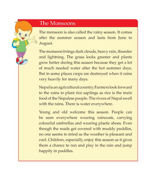 Writing skill - grade 4 - seasons  (8)