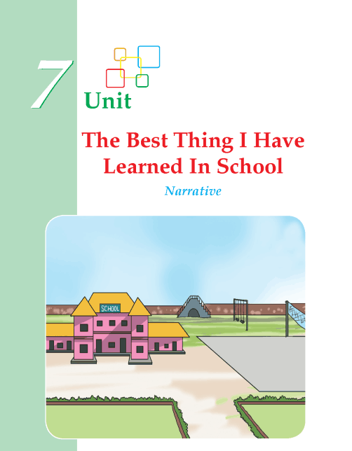 Writing skill - grade 4 - the best thing i have learned in school  (1)