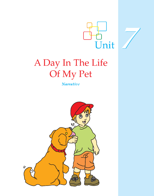 Writing skill - grade 5 - a day in the life of my pet  (1)