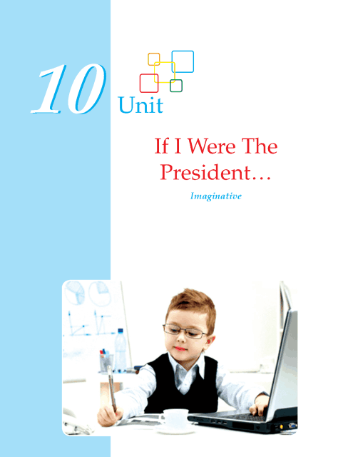 Writing skill - grade 5- if i were a president  (1)