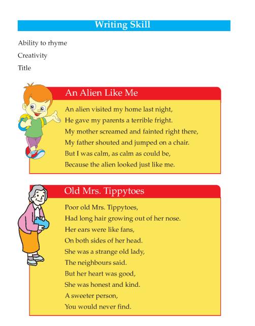 Writing skill - grade 5 - poetry  (2)