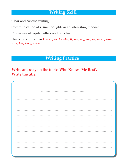 Writing skill - grade 5 - who knows me best  (2)