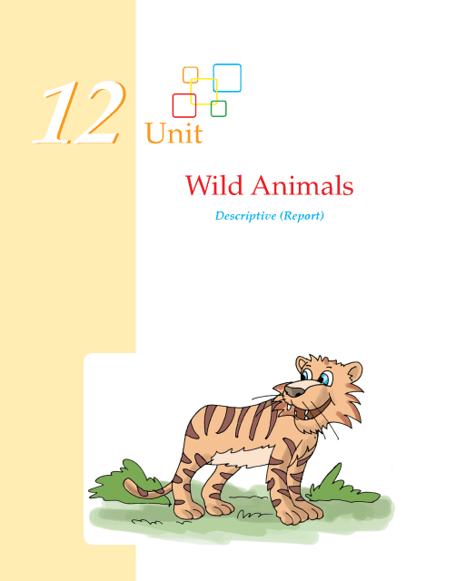 Writing skill - grade 5- wild animals  (1)