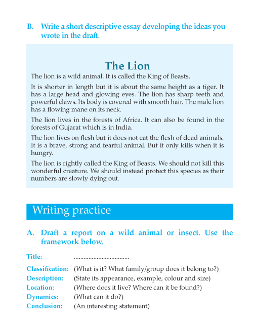 Writing skill - grade 6 - descriptive essay  (4)
