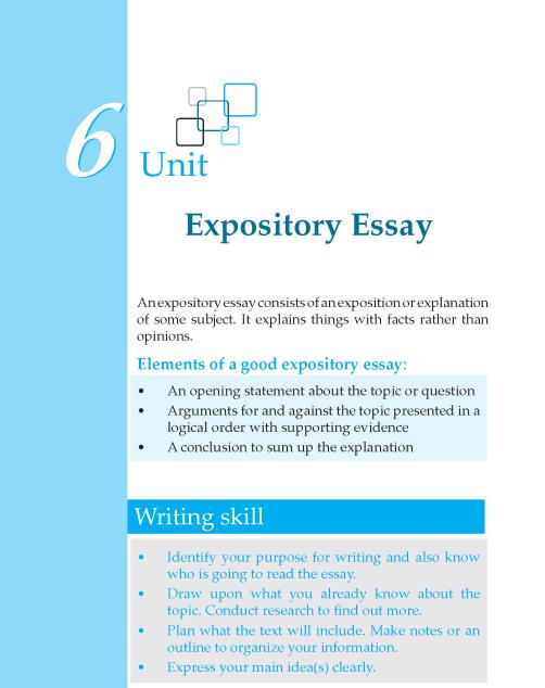 Grade 6 Expository Essay