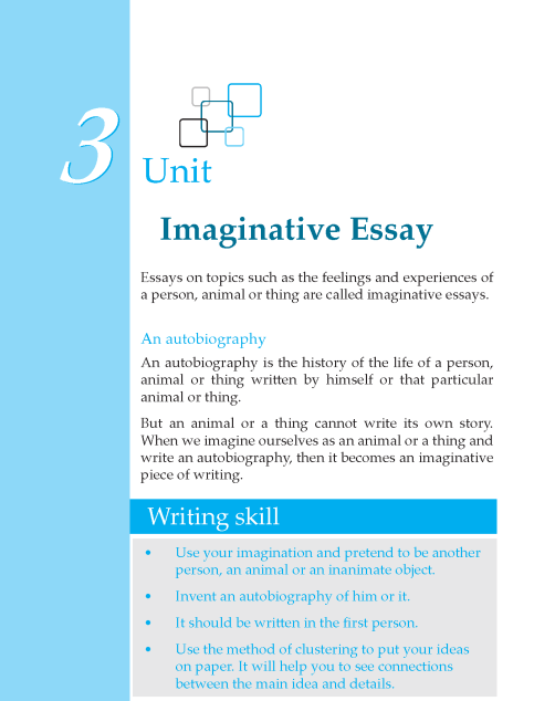 Grade 6 Imaginative Essay