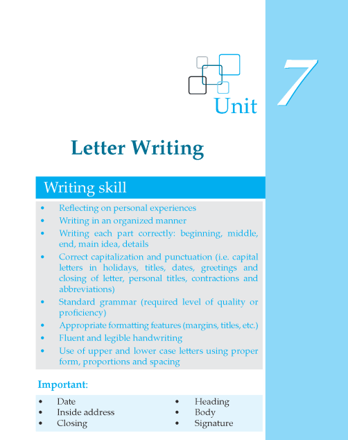 Writing skill - grade 6 - letter writing  (1)