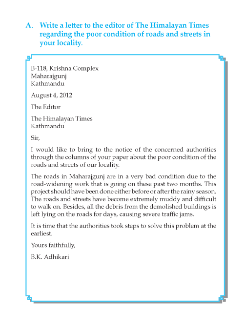 Writing skill - grade 6 - letter writing  (9)